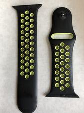 Apple 42mm Black/Volt Nike Sport Band