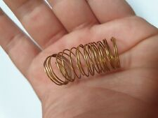 GOLDEN SPIRAL RING  museum quality - Bronze aged  /  EARLY GOLD JEWELRY