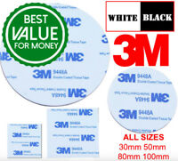 Double Sided Sticky Pads Foam Round Circle Self Adhesive Strong Round Pad