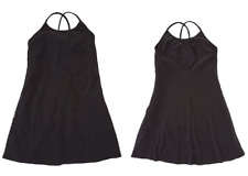 Ralph Lauren Girls Crepe Jersey Tank Dress , Black, Size S (7), MSRP $49.5