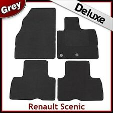Renault Scenic 2009 2010 2011 Tailored LUXURY 1300g Car Mats GREY