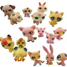 20 PCS Littlest Pet Shop Cute Cat Dog Animals Figures Lot Random Style Toys