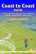 Coast to Coast Path: 109 Large-Scale Walking Maps & Guides to 33 Towns and Villa