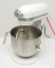 KitchenAid Ksm8990Wh 8-Quart White Commercial Kitchen Mixer + Bowl Dough Hook