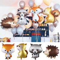 Animal Balloon Hedgehog Helium Balloon Birthday Party Baby Shower Supplies Decor