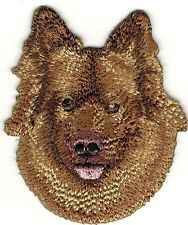 "2"" x 2 1/2"" Eurasia Eurasier Dog Breed Portrait Embroidery Patch"