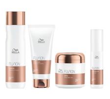 Wella Fusion Shampoo Conditioner Mask Amino Refiller intensive regenerierende
