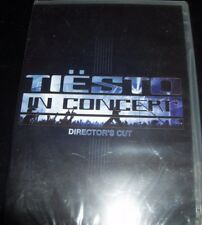 Tiesto DJ In Concert - Director's Cut (Australia All Region) DVD – New