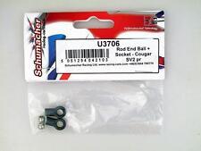 Schumacher Rod End Ball + Socket Cougar SV2 U3706 modellismo
