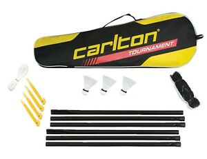 Carlton Garden Badminton Net and Post Set With Carry Bag RRP £40