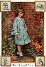 Postcard: Vintage print repro - Real Alice in Wonderland - The Original Alice