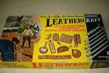 Vintage Leathercraft series B beginners kit with additional tools