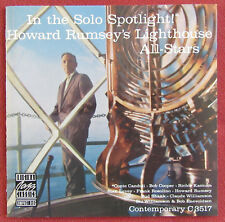 HOWARD RUMSEY'S LIGHTHOUSE ALL STARS   CD USA IN THE SOLO SPOTLIGHT !