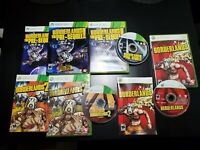 Borderlands 1, 2 & Pre-Sequel Microsoft Xbox 360 COMPLETE! TESTED! FREE SHIPPING