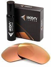 Polarized IKON Replacement Lenses For Costa Del Mar Brine Rose Gold Mirror