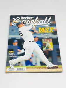Baseball Beckett Price Guide Magazine April 2020 Gleyber Torres