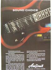 vintage magazine advert 1992 ARIA PRO II / seymour duncan magna 90