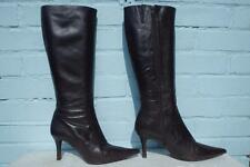 ~ JONES the BOOTMAKER LEATHER BOOTS ~ Ladies Size 7.5 41 ~ BROWN LEATHER BOOTS