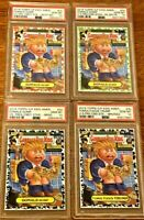 POP 1+2 Donald Trump PSA 10 Garbage Pail Kids GPK 2016 US Presidential Promo Lot