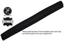 Noir coutures Dash planche de bord en cuir peau couvrir fits RENAULT 8 GORDINI