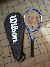 Wilson adult racket with cover