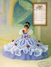 "Crochet Bed doll pattern ""Miss July 1998"" Annie Potter"