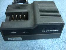 Motorola MT1000 HT600 MTX800 MTX810 Portable radio Rapid Charger NTN4633B
