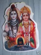 Aufkleber goa psy hippie sticker indien Shiva Parvati