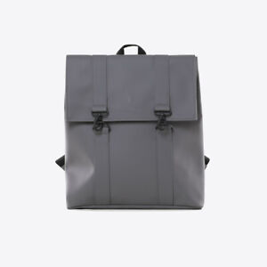Rains Unisex Msn Bag 1213 Backpack Charcoal Grey
