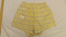 Vtg 60s NOS McGregor Plaid Swim Suit sz 34 Board Trunks NEW Sun Burst Boxers