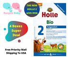 Holle 2 Organic Formula with DHA 4 Boxes - Holle Stage 2 - Exp. 11/30/2022+