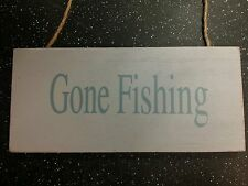 Gone Fishing Decorative Indoor Signs/Plaques