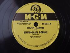 Chuck Merrill Birmingham Bounce They'll do it every time MGM 10695 VG++