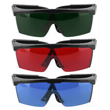 Protection Goggles Safety Glasses Green Blue Red Eye Spectacle Protective New FE