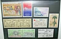 """ANDORRA FRANCESE FRENCH 1989 """"ANNATA COMPLETA - FULL YEAR"""" NUOVO MNH** (CAT.W)"""