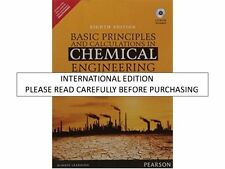 Basic Principles and Calculations in Chemical Engineering (With CD) ,8e