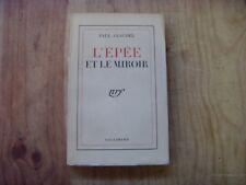 Paul Claudel L'épée et le miroir 1939 Gallimard