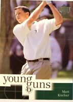 2001 Upper Deck Young Guns You Pick Golf Cards PGA Tour Matt Kuchar Sports Cards
