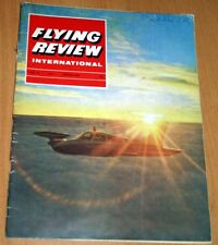 Flying Review 1964 March Hunter,Westland,Whirlwind