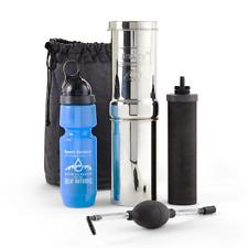 Go Berkey Kit Water Survival Purifier w/Black Filter Sport Berkey blemished