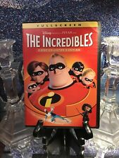Disney's The Incredibles (Dvd, Full Screen, 2-Disc Collector's Edition) Like New