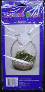 Hamper Wrap cellophane Basket Gift Wrap Large Cello Basket BAG FREE P&P