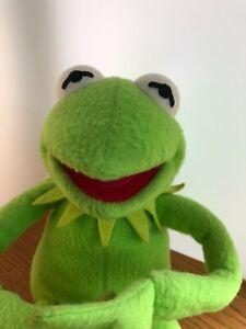 "VTG Applause Muppets Kermit The Frog Bendable Plush Stuffed Animal 19"" Henson"