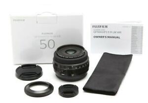 Mint FUJIFILM GF 50mm f3.5 R LM WR Lens With Box #32186