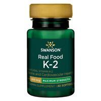 Ultimate Swanson puissance Maximum Vitamine K2 200m 30 Gélule