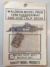 Waldron Model 1/20 Scale Racing Seat Belt Buckle Set Metal Photo Etched Details