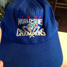 Vintage Toronto Blue Jays Baseball hat 1992 World Series Champions