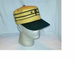 PITTSBURGH PIRATES PILLBOX HAT RETRO CAP ( 3 CHOICES ) ONE SIZE FITS ALL