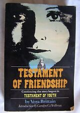 Testament of Friendship by Vera Brittain paperback Free shipping