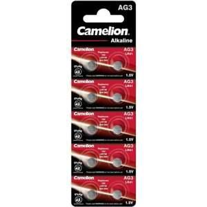 10 Piles LR41 / AG3 / 392 / 192 Camelion Alcaline 1,5V